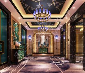 天津市丽水湖温泉大酒店商务KTV设计